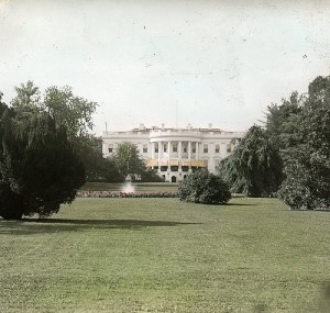south lawn of the white house